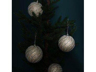 Boules de Noël Esmeraldas (lot de 4)