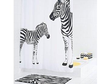 Rideau de douche Zebra