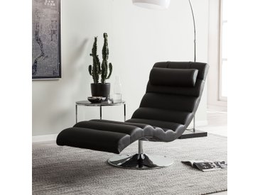 Chaise longue de relaxation Yves