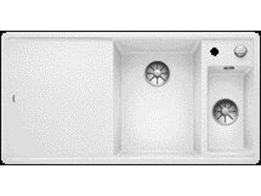 Evier Encastrable Blanco Axia III 6 S-F planche en bois égouttoir (523483)