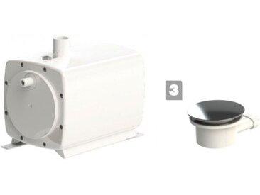 Sanibroyeur SFA Sanifloor+ 3 Pompe et Bonde de Douche italienne pour sols souples
