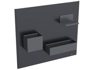 Tableau magnétique avec Caissons Geberit Acanto Noir