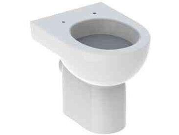 WC à Poser Geberit Renova Avec Bride Fond Plat 355x410x475mm Blanc