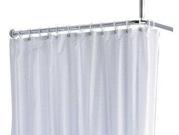 Rideau de douche Keuco Plan Maxxi Blanc 1800 mm 100% polyester