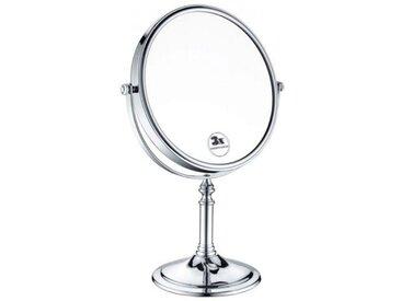 Miroir Grossissant Heritage sur Pied diamètre 20cm 335x240x135 mm Chromé