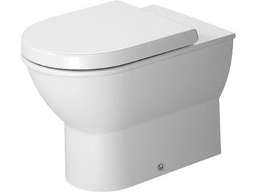Duravit Darling New Cuvette de WC à poser carénage jusqu'au mur