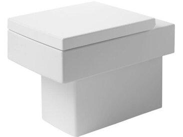 Duravit Vero Cuvette de WC à poser à fond creux sortie horizontale (211709)
