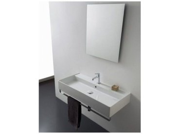 Lavabo Suspendu Scarabeo Teorema 2.0 1 trou Blanc