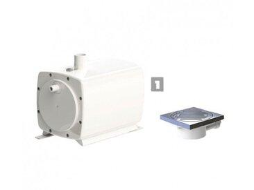 Sanibroyeur SFA Sanifloor+ 1 Pompe et Bonde de Douche italienne pour sols à carreler