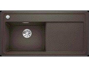 Evier Encastrable Blanco Zenar XL 6 S avec planche en bois égouttoir