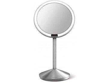 Miroir Grossissant Lumineux Simplehuman à capteur sur pieds 12cm