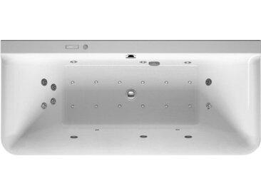 Baignoire d'Angle Balnéo Duravit P3 Comforts version tablier 3 faces 760381000
