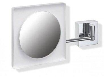 Miroir Grossissant Lumineux Hewi Chromé 950.01.256