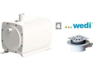 Sanibroyeur SFA Sanifloor+ 4 Pompe et Bonde de Douche italienne pour receveurs Wedi