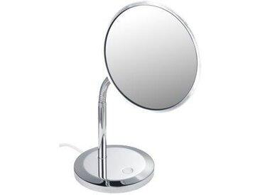 Miroir Grossissant Lumineux Keuco Elegance fixe diamètre207 mm avec éclairage