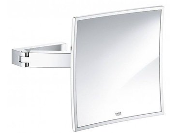 Miroir Grossissant Lumineux Grohe Selection Cube
