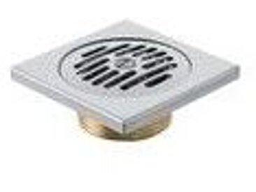 Siphon Douche Italienne Geberit avec grille standard 10x10 cm