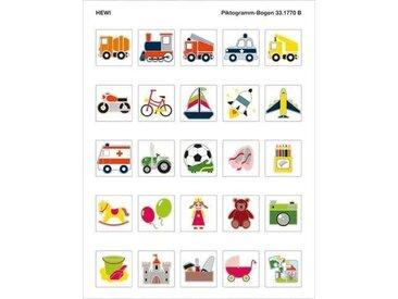 Pictogrammes Toilettes Hewi Kids série véhicules et jouets 33.1770B