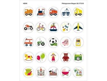 Pictogrammes Toilettes Hewi Kids série véhicules et jouets 33.1772B