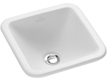 Villeroy et Boch Loop & Friends Vasque à encastrer 405 mm x 405 mm (615610)