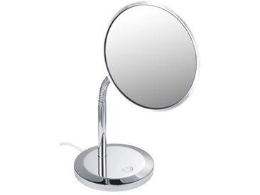 Miroir cosmétique Keuco Elegence 17677, modèle sur pied, chromé - 17677019000
