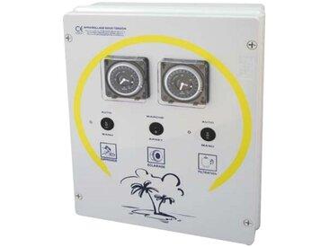 coffret electrique pour filtration + 1 projecteur 300w + balai - detfb 1 pd - wa conception