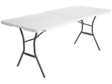 Table Valise Pliante en 2 183cm Lifetime
