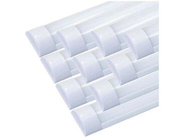 Réglette lumineuse LED 150cm 60W (Pack de 10) - Blanc Neutre 4000K - 5500K