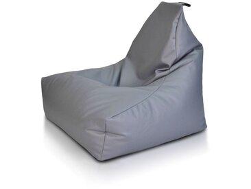 BEANBAG / POUF Keiho S - ECO-CUIR moderne | gris