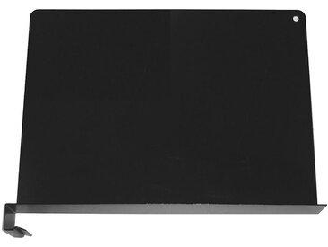 Serre-livres amovible - noir graphite, lot de 5 - hauteur 250 mm - Coloris: Noir graphite