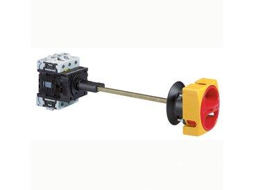Interrupteur sectionneur rotatif complet saillie avec commande rompue cadenassable tripolaire 80A (022146)