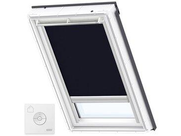 VELUX Original Store Occultant à Énergie Solaire pour Fenêtres de Toit VELUX, UK04, Bleu Foncé - Bleu Foncé