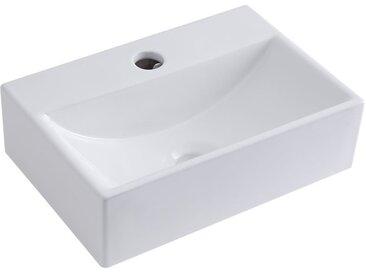 Vasque suspendue 36 x 25cm Sandford
