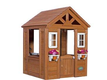 Timberlake Playhouse: Maisonnette pour enfants, fenêtres intégrées et bois très résistant