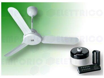 """vortice kit ventilateur plafond nordik design is 160/60"""" blanc 61460 ev61460b"""
