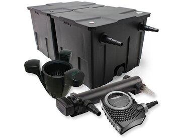 SunSun Kit de filtration de bassin 60000l 36W UVC 3. Stérilisateur NEO10000 80W Pompe Skimmer