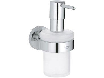 Distributeur de savon liquide avec support Grohe Essentials 40448001 | Chromé