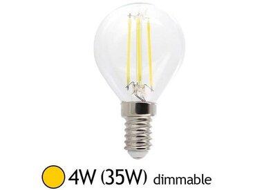 Ampoule LED 4W (35W) E14 Dimmable Filament Bulb claire Blanc chaud 2700�K