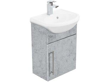 Meuble salle de bain Primus Aspect Béton