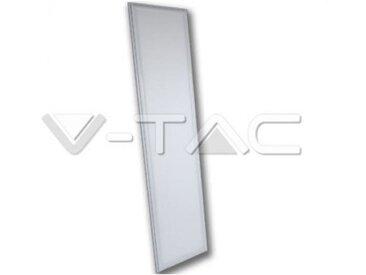 Panneau a' leds rectangulaires 45w avec lumie're naturelle en aluminium couleur blanc vt-12030 6026