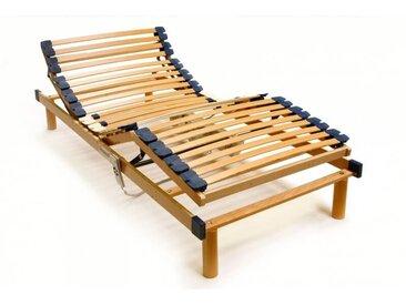 Sommier de relaxation électrique en bois 28 lattes Mayorke 70 x 200 cm