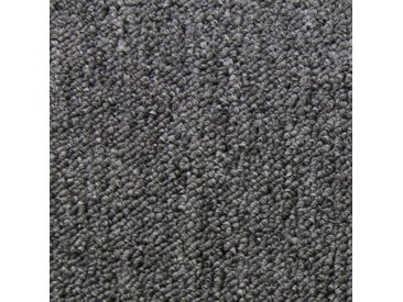 Dalle de Moquette Ultra-Résistant Couleur Anthracite pour Usage Professionnel, Paquet de 20 Dalles de 50cm x 50cm (Superficie de 5m²)