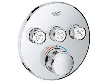 Grohtherm SmartControl Thermostatique pour installation encastrée 3 sorties (29121000)