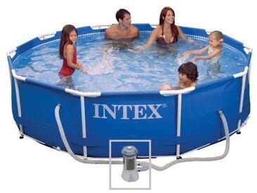 Kit piscine tubulaire ronde Metal Frame - O 305 x 76 cm - Intex
