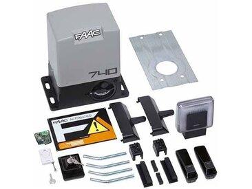 KIT DELTA2 FAAC complète coulissant 500KG 230V SAFE DELTA 2 1056303445