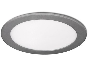 Led Slimline Downlight Rond Ecoline 225M 18W 1350Lm 30.000H Argent | Blanc froid (GR-RDP1305-18W-CW)