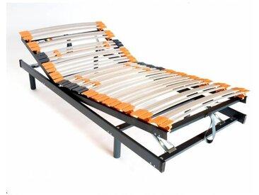 Sommier de relaxation manuel en bois à lattes Civelle 80 x 190 cm