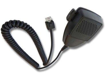 vhbw Microphone à haut-parleur câble en spirale, bouton de fonction PPT Motorola LCS2000, LTS2000, MCX600, MCX760, MCX780, PM400, SM120, SM50