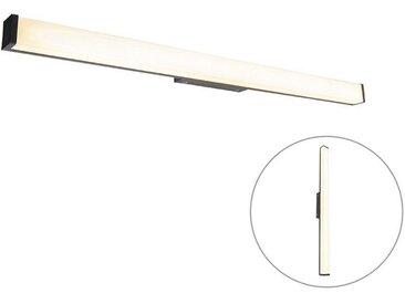 LED Applique de salle de bain Moderne noir 92 cm IP44 - Cascada Qazqa Moderne IP44