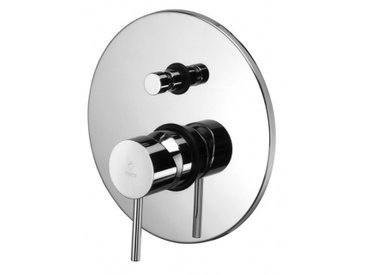 Mitigeur de douche à encastrer Paffoni LIGHT LIG015 | Chromé - 2 USCITE